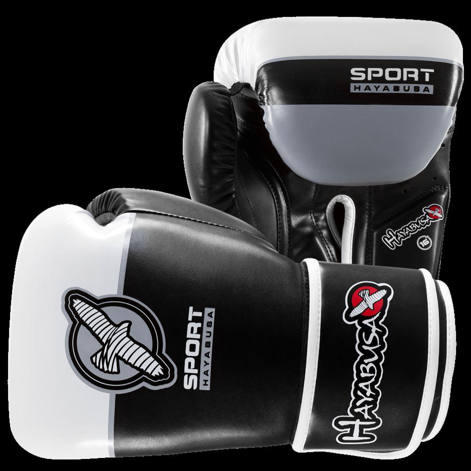 Black gloves singapore - Hayabusa Sport 16oz Training Gloves Black