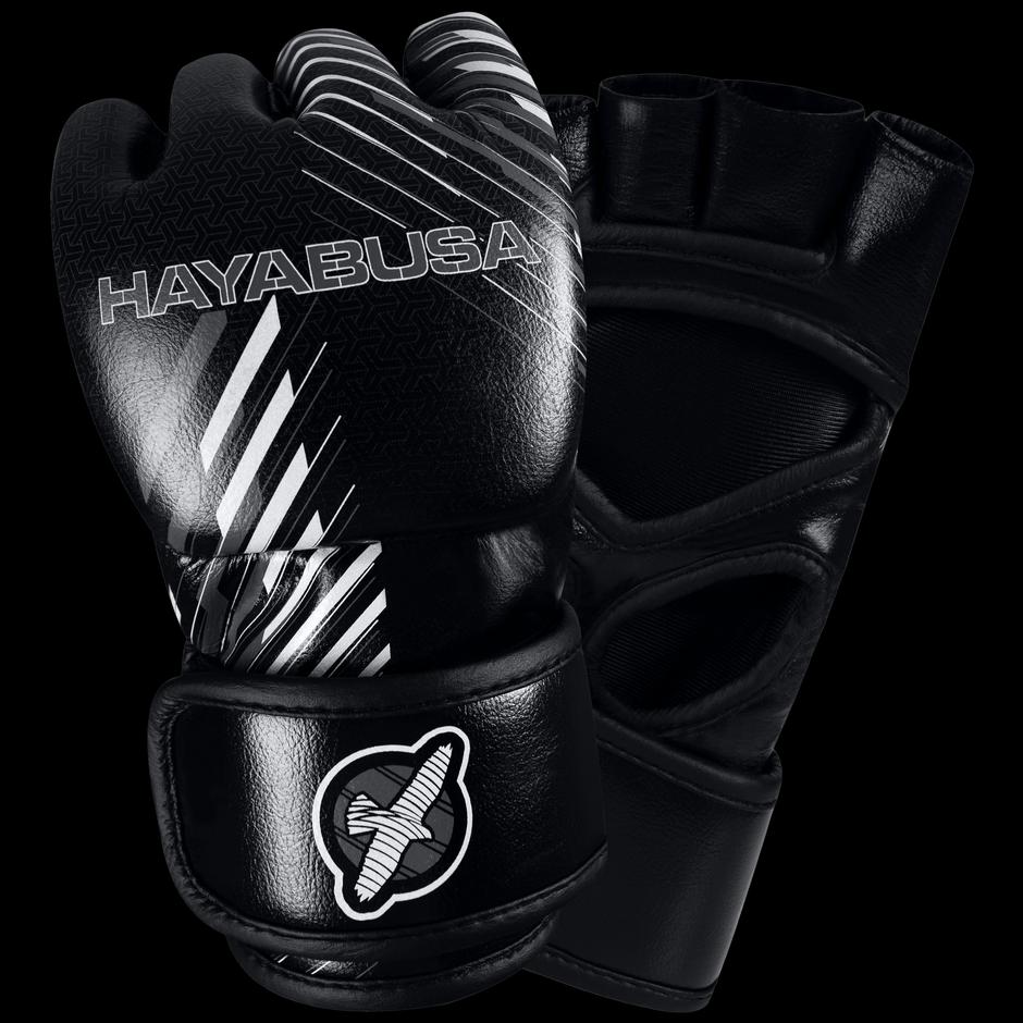 Black gloves singapore - Ikusa Charged 4oz Mma Gloves Black Grey