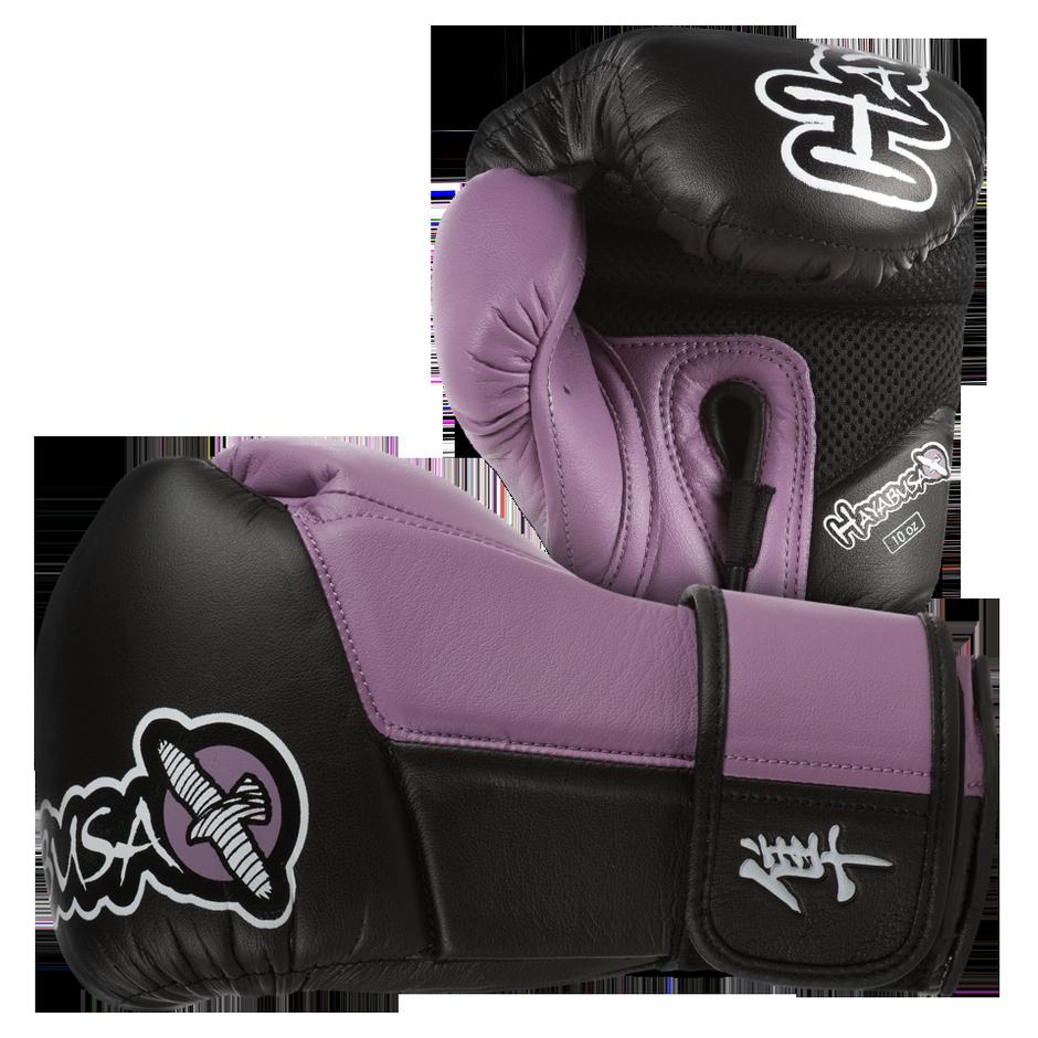 Black gloves singapore - Tokushu 10oz Gloves Black Dark Orchid