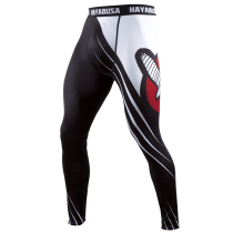 Recast Compression Pants - Black/White