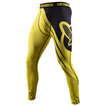 Recast Compression Pants - Yellow/Black