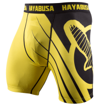 Recast Compression Shorts - Yellow/Black