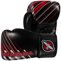 SALE - Ikusa Charged 10oz Gloves - Black/Red